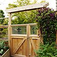 Bloomtown - Gate to Kitchen Garden